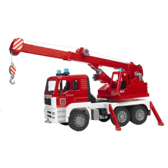 Пожарная машина автокран MAN Bruder 02-770