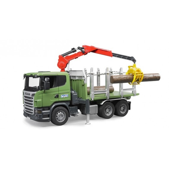 Лесовоз Scania Bruder 03-524