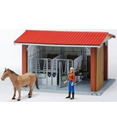 Игровой набор Bruder Конюшня с всадницей и лошадью 62-520...