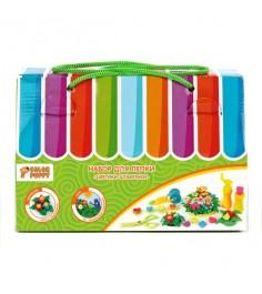 Набор для лепки из теста Color Puppy цветики-штампики