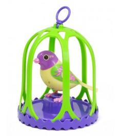 Птица с большой клеткой и кольцом Digibirds 88024s
