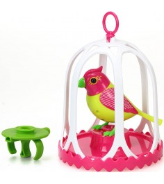 Птичка с большой клеткой и кольцом Digibirds 88295S