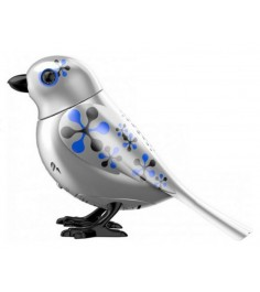 Птичка с кольцом Digibirds Серебряная 88408S