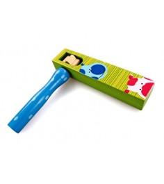 Деревянная музыкальная игрушка Mapacha Круговая трещотка 76433
