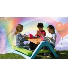 Детский столик для улицы складной для пикника 376 Marian Plast (мариан пласт)