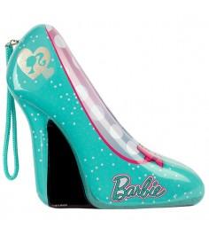 Barbie набор детской декоративной косметики в туфельке зеленый Markwins 9600651