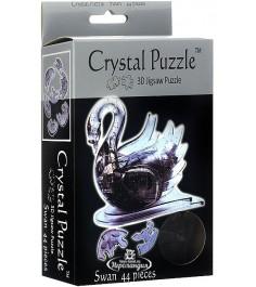 Crystal puzzle лебедь черный 90011