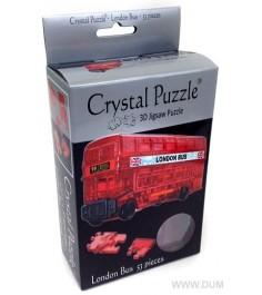 Crystal puzzle лондонский автобус 90129