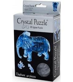 Crystal puzzle слон 90135