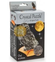 Crystal puzzle сова дымчатая 90147