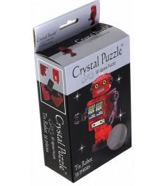 Crystal puzzle робот красный 90151