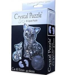 Crystal puzzle кошка 90226