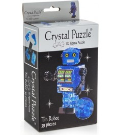 Crystal puzzle робот синий 90351