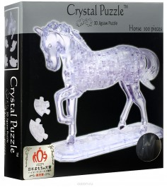 Crystal puzzle лошадь неоновая 91001