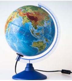 Globen Земли физико-политический 250