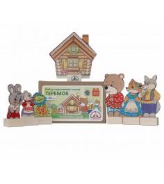 Набор персонажи сказки теремок Краснокамская игрушка н-10