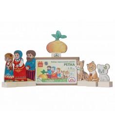 Набор персонажи сказки репка Краснокамская игрушка н-19
