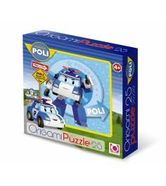 Пазлы для малышей Origami robocar 25 эл артикул 00160