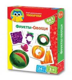 Vladi Toys кд умнички фрукты овощи VT1306-06