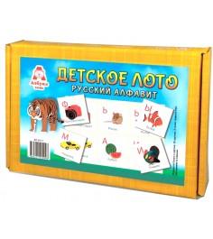 Настольная игра Азбука Тойс Лото Русский алфавит ДЛ-0013