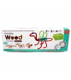 Конструктор Waveplay Wood Dinosaurs 10-C