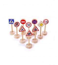 Дорожные знаки Paremo 10 шт PE1117-1