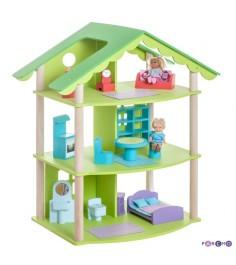 Кукольный домик PAREMO Фиолент с мебелью PD216-02