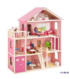 Большой домик для Барби PAREMO Мечта PD316-02