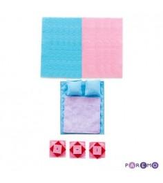 Набор текстиля PAREMO для серии открытых домиков Роза Хутор PDA215