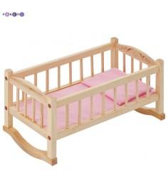 Кукольная люлька PAREMO розовый текстиль PFD116-02