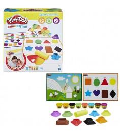 Игровой набор цвета и формы Play doh B3404