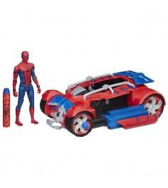 Транспортное средство Человек паук Паутинный город 15 см B9703