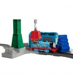 Томас и друзья Игровой набор Томасом и подъемным краном Крэнки DVF73