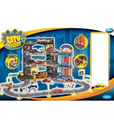 Гараж Dave Toy Люкс с 6 машинками 32004