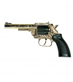 Игрушечный пистолет Edison Дакота Metall Gold Western 19,8 см 0162/56