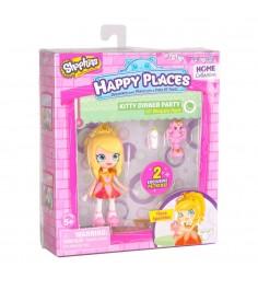 Набор фигурок Happy Places Петкинс с куклой Shoppie Тиара Блестяшка 56411