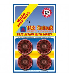 Пистоны Sohni-wicke 12 зарядные 192 шт 0242S