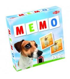 Обучающая настольная игра Tactic Games Мемо Животные 2 41439