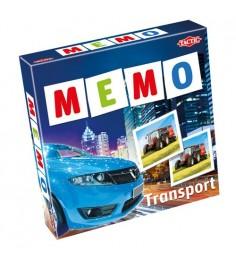 Обучающая настольная игра Tactic Games Мемо Транспорт 2 41442