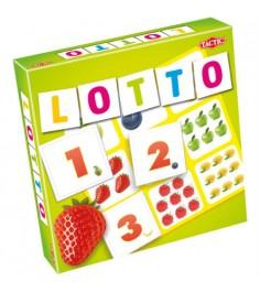 Обучающая настольная игра Tactic Games Лото Цифры и фрукты 2 52677
