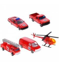 Игровой набор Welly Пожарная команда 5 шт. 97506B