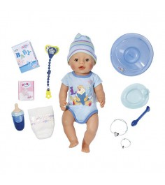 Кукла мальчик интерактивная 43 см Baby born 822-012
