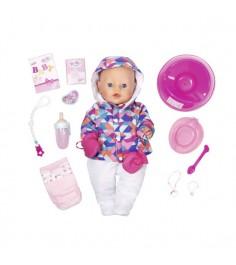 Кукла интерактивная зимняя пора 43 см Baby born 825-273