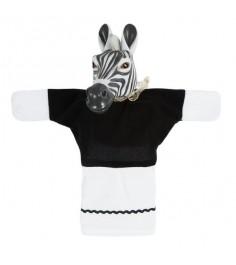 Кукла перчатка Жирафики Зебра 68328