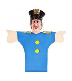 Кукла перчатка Жирафики Полицейский 68329