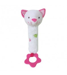 Пищалка с прорезывателем Жирафики Кошечка Кити 939452