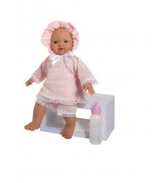 Кукла popo в розовом костюмчике 36 см Asi 2393025