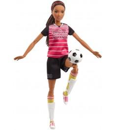 Кукла Barbie футболистка FCX82