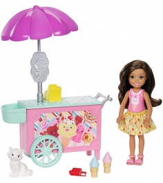 Кукла Barbie Челси и набор мебели FDB33