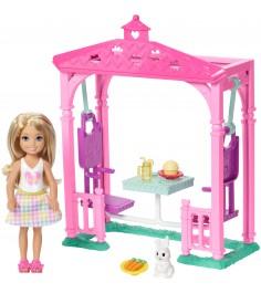 Кукла Barbie Челси и набор мебели FDB34